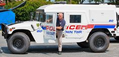 New Jersey Police Hummer