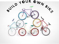 How much cooler could it get??? BUILD YOUR OWN BIKE!!!