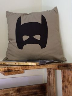 A Batman cushion. I've been so hard convinced to make it.