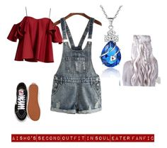 """My characters second outfit"" by valentinahades88 on Polyvore featuring Anna October and Vans"