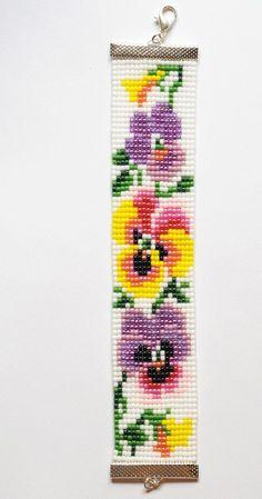 off loom beading stitches Bead Crochet Patterns, Beading Patterns Free, Seed Bead Patterns, Cross Stitch Patterns, Jewelry Patterns, Beading Ideas, Loom Bracelet Patterns, Bead Loom Bracelets, Bead Loom Designs