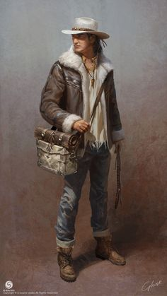 ArtStation - Gonpo, and his stuff, G-host Lee