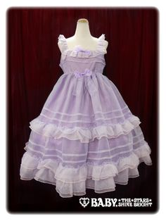 [RE-REDUCED] Alice and The Pirates – Organdy Long JSK (lavender) « Lace Market: Lolita Fashion Sales and Auctions