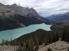Lago Peyto Canada, Mountains, Nature, Travel, Naturaleza, Viajes, Trips, Off Grid, Natural