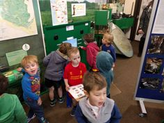 Children discover the importance of the North Devon Biosphere at the Braunton Countryside Centre.