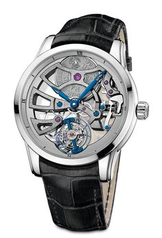 Ulysse Nardin Skeleton Tourbillon Manufacture 2014 - white gold.