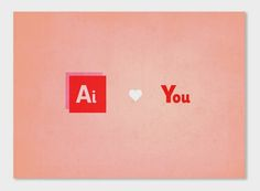 Ai Love You. My Geeky Valentine by Joanna Behar, via Behance Ai Love You, Funny Design, Design Humor, Design Girl, Typography, Lettering, Design Quotes, Creative Words, Geek Stuff