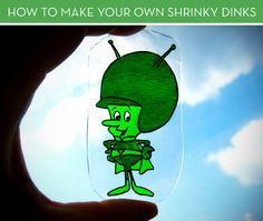 Make homemade shrinky dink jewelry and decorations out of snack containers. | 27 Cheap And Easy Gifts To Make With Kiddos