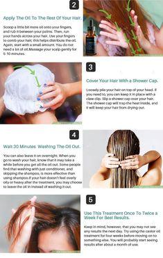 Pure Castor Oil Hair Growth Serum - Default Title
