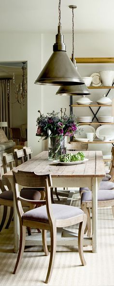 Dining Room Ideas | Suzanne Kasler
