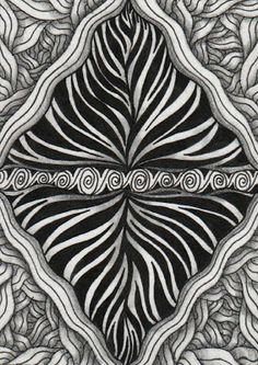 Creative Doodling with Judy West: More Trading Card Patterns