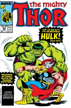 Thor (1966) Issue #385 - Read Thor (1966) Issue #385 comic online in high quality