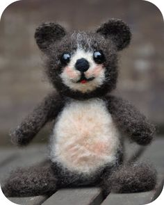 Grietjekarwietje: Haakpatroon: Beertje Pom / Free Amigurumi pattern little bear Pom