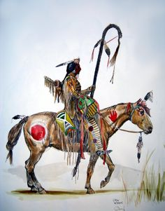 Dariusz caballeros: American Indians -old drawings Native American Horses, Native American Paintings, Native American Pictures, Native American Artists, Native American History, Indian Paintings, Abstract Paintings, Art Paintings, Indian Pictures