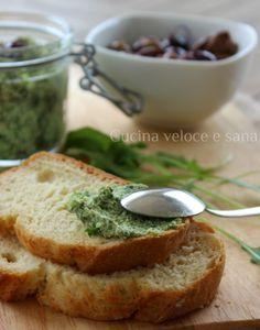 Pesto di rucola, tofu e olive   Cucina veloce e sana