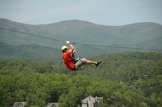 Zip Lining- Done! 9-8-13, loved it, going keep doing it! Now to find bigger, badder, better.