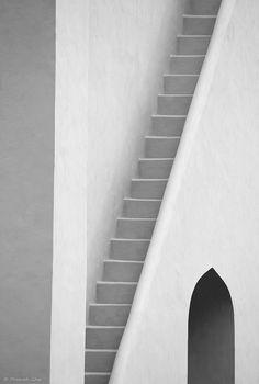 "learnminimalism: "" (via Minimalist Photos: Mysterious Staircase) """