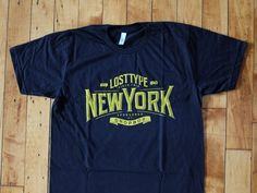 Lost Type Field Trip New York 2013 tee