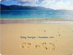 Pregnancy Announcement: My husband and I made our footprints (and babies w/ hands) on our favorite private beach in the British Virgin Islands. We used Storkie.com to make cards. This is the picture we used for the front, and on the back we just wrote: For the child we have prayed.