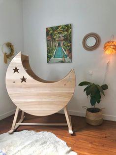 Egg Chair, Wood, Handmade, Furniture, Home Decor, The South, Bassinet, Seesaw, Moon