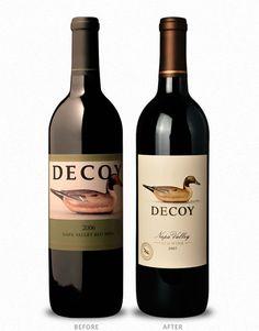 Decoy Duckhorn Wine Co Cf Napa Brand Design