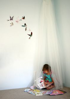 a habitat for fairies ..tutorial    now that i have a girl i get to think about beautiful girly things!!