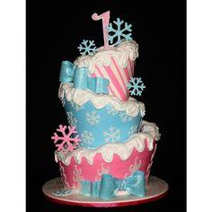 E's 1st Birthday Party - Winter ONEderland / Winter ONEderland TopsyTurvy