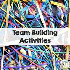 These quick and simple team building activities can be pulled out in the classroom whenever there is time. I especially like the first one where you are forced to work as a team to help get your partner through the obstacle course. Some may need a little bit more planning and space than others, but they all encourage cooperation.