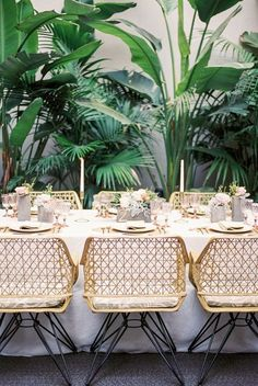 Glam-Tropical Pink Und Gold-Wedding-Shooting – Diy World Pink And Gold Wedding, Green Wedding, Wedding Colors, Fall Wedding, Rustic Wedding, Pink Und Gold, Pink White, Green And Gold, Tropical Home Decor