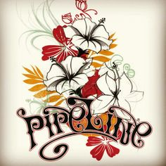 A new Pipeline Clothes & Gear girls tee design coming soon online at www.pipelinegear.com