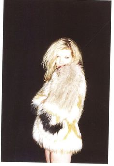 Kate Moss in Isabel Marant fur