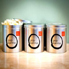 Karma Popcorn is the bomb. High quality ingredients, delicious seasonings & a great assortment. Buy it now.