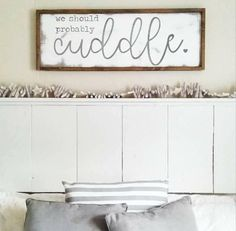Cottage Home Newlywed Decor Inspirational Signs We