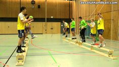 Pass-/Coordination training on benches