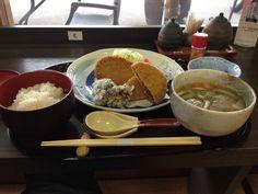 道の駅和田浦WA・O! のクジラ食べ比べ定食
