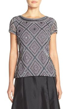 Love the geometric design and the touch of sparkle. Wear it day or night to shine through to the city.