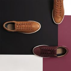 Fall stroll essentials. Loving our Straightset sneakers? Click now!