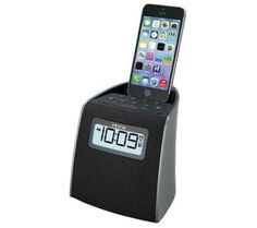 iHOME IPL22G iPhone/iPod Clock Radio with Lightning Connector (Black) -- Check this awesome product by going to the link at the image. (This is an affiliate link and I receive a commission for the sales)