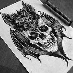 by @flesher_tattooer #sketching #sketchtattoo #tattoo #tattooart #tattoodesign