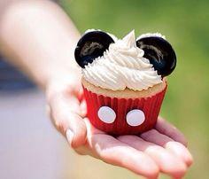 Mickey Mouse cupcaje