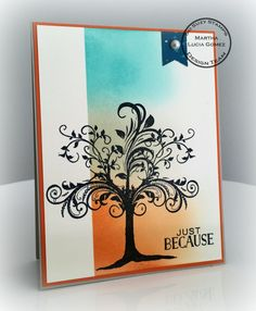 So Suzy Stamps: The Splendor of Fall with the Whimsy Tree