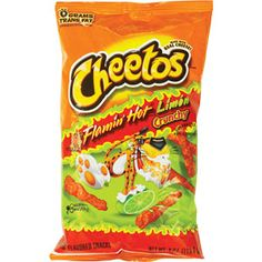 Hot Cheetos :) with limon are the best