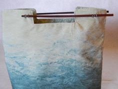 Women's Asian inspired Chopstick purse  in by BlackRavenCreations, $20.00