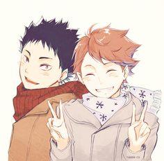 Iwaizumi et Oikawa
