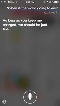 Funny stuff to ask Siri