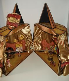Circus Tent handmade by Patricia (2012)  artist's You Tube channel is here http://www.youtube.com/user/tubeyoumaster1/videos