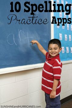 Searching for ways to spice up the weekly spelling test routine at your house? These apps make spelling FUN and engaging for children, tweens, and teens! Apps for iOS & Android, help your child get ahead of the learning game and become a better speller! 10 Best Spelling Practice Apps