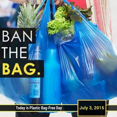 International Plastic Bag-Free Day is observed annually on the 3rd of July. The day aims to raise awareness about the serious issues brought about by this most popular of disposable carrying devices. #InternationalBagFreeDay #BagFreeDay #PlasticBagFreeDay