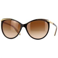 8d3a9fbd8 Óculos de Sol Ralph by Ralph Lauren Acetato Café e Bege Lente Marrom  Degradê - RA5150109013
