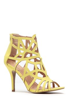 a0cf92f865fb Lime Laser Cut Single Sole Heels   Cicihot Heel Shoes online store  sales Stiletto Heel Shoes
